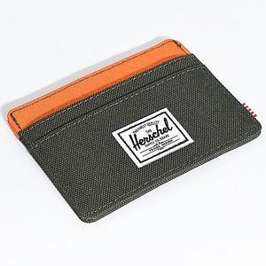 Herschel Charlie Forrest Night & Orange Cardholder